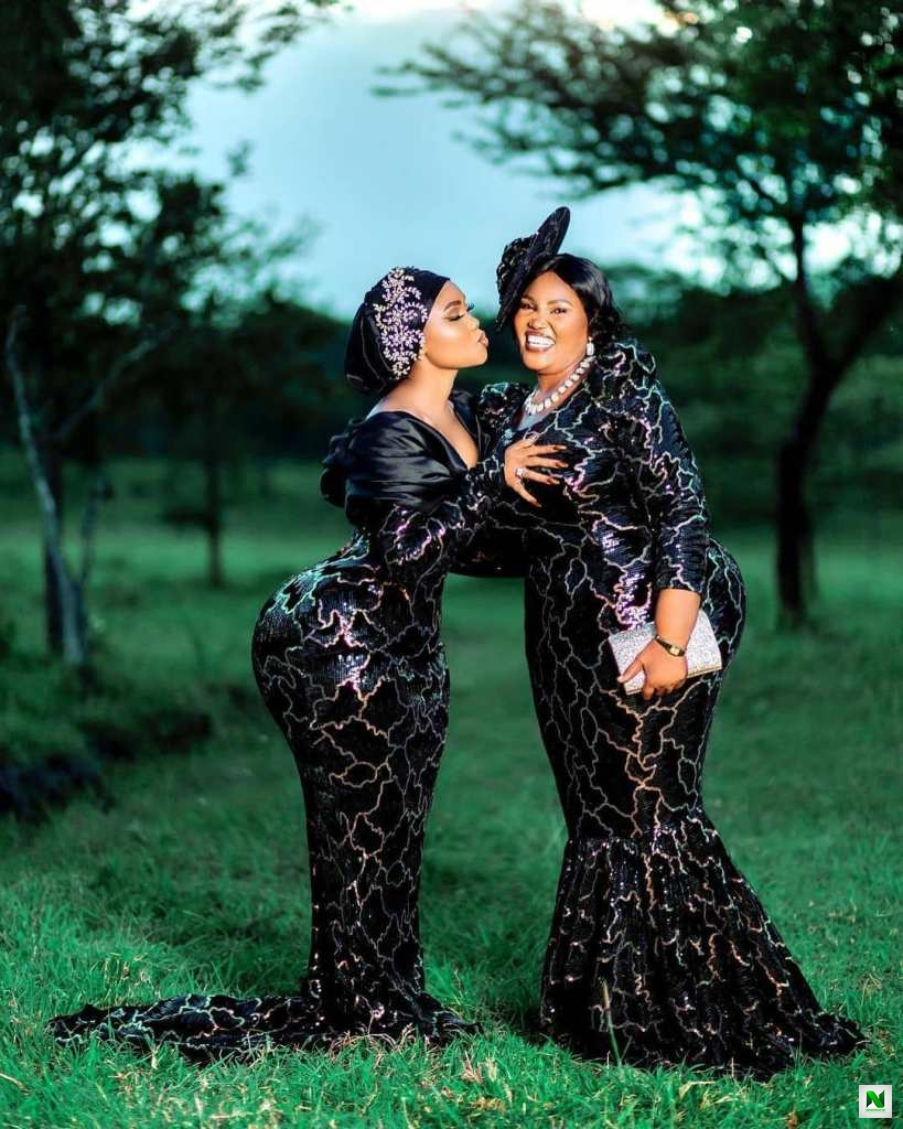 Curvy Tanzanian Model, Sanchi And Her Endowed Mom Causes Stirs On Social Media With Their Massive Backsides (Video)