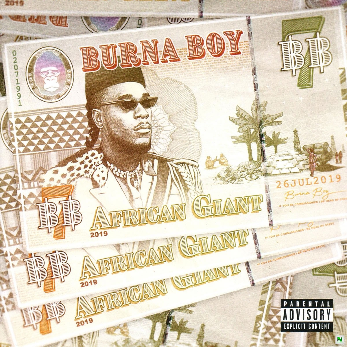Burna Boy - Different Ft. Damian Marley x Angelique Kidjo