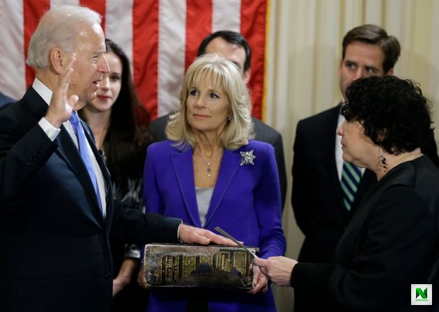 Biden Will Be Sworn In With 127-Year-Old Family Bible (Photos)