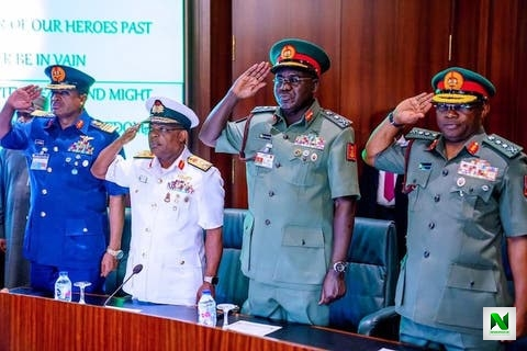 Why Buhari Sacked Buratai, Other Service Chiefs - Daily Trust