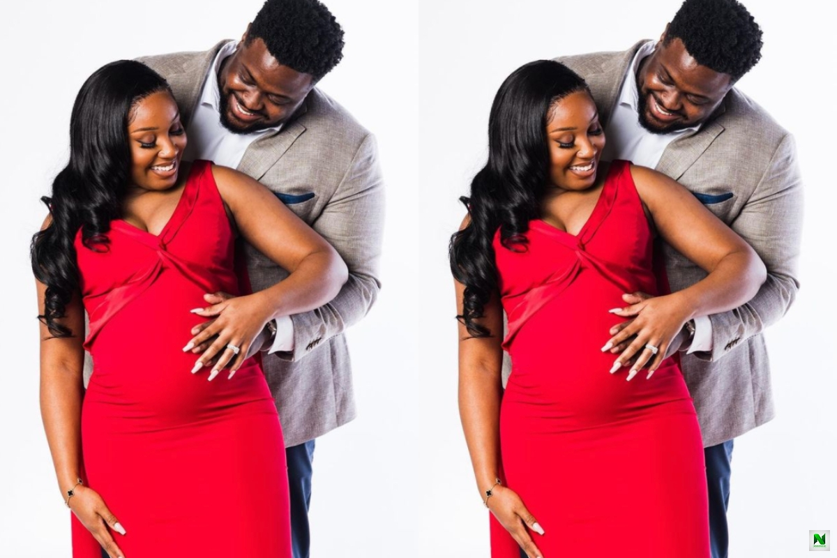 'I'm A Father': Davido's Brother, Adewale Adeleke & His Wife Welcome A Baby (Pix)