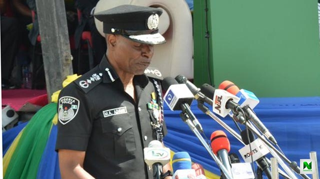 Nigerian Police Officers Are Seen As The Best In The World - IGP