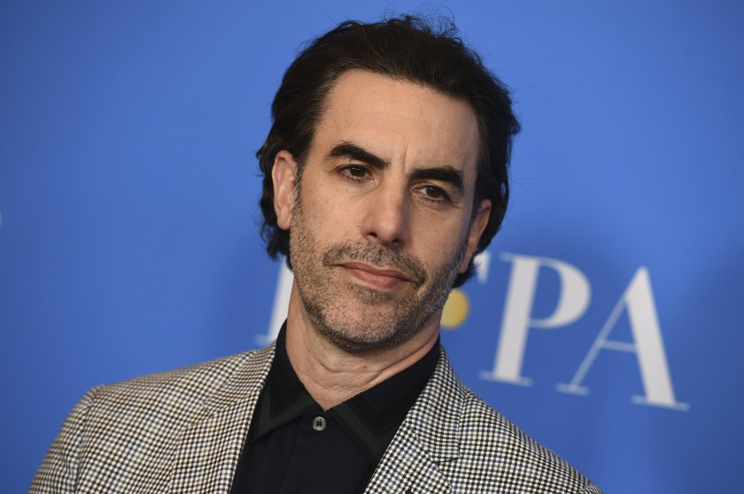 Hollywood Superstar Sacha Baron Cohen Goes Shirtless for a Beach Day in Australia