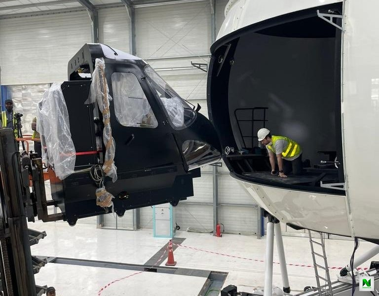 Caverton : Nigeria Becomes First African Country To Launch Sophisticated Helicopter Full Flight Level D Simulator