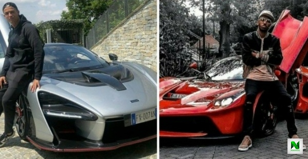 Cristiano Ronaldo, Aubameyang And Eto'o Boasts Amazing Rides, But Which Footballer Owns The Most Expensive Car Collection?