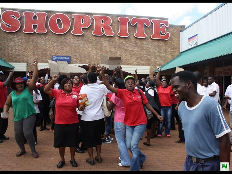 Shoprite On Shutdown While Workers Go On Strike Over