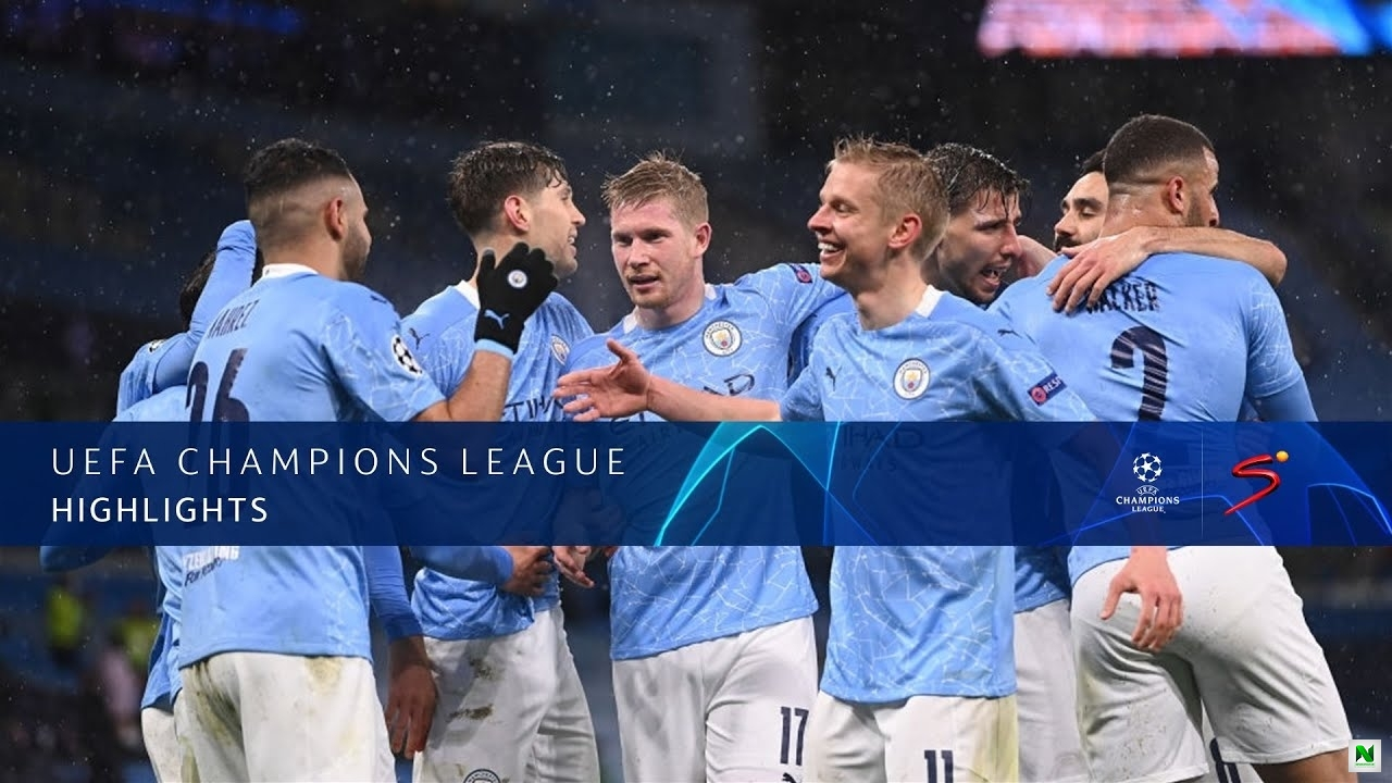 Manchester City Vs Paris Saint-Germain 2 - 0 (UEFA Champions League) 2nd Leg Highlights