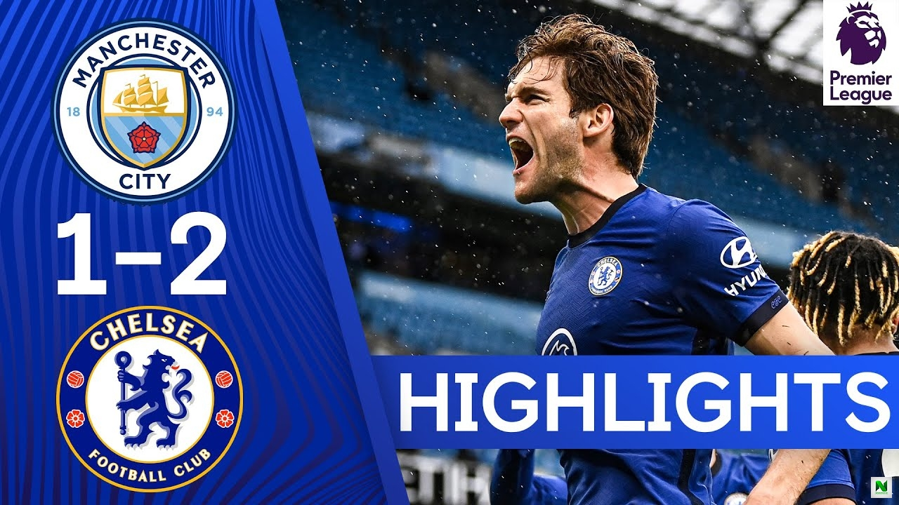 Manchester City Vs Chelsea 1 - 2 (Premier League) Highlights
