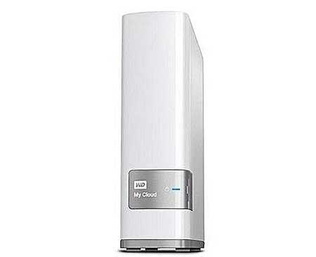 White 6TB Hard Disk