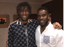 JayJay Okocha and his nephew Alex Iwobi Pictured together 5 Download