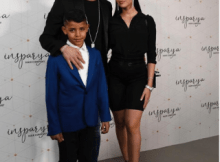Adorable Family Photo Of Cristiano Ronaldo, His Wife And Son 9 Download