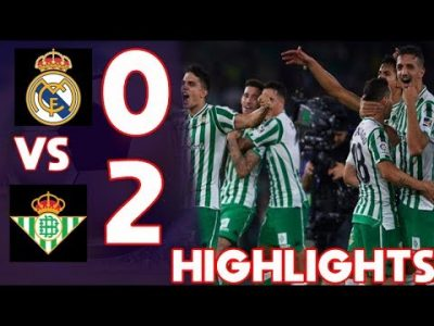 VIDEO: Real Madrid Vs Real Betis 0-2 LA Liga 2019 Goals Highlights Mp4 3Gp Download