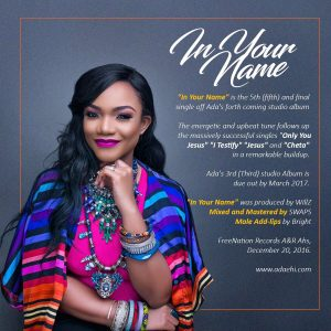 Ada - In Your Name (Audio + Video) Mp3 Mp4 Download