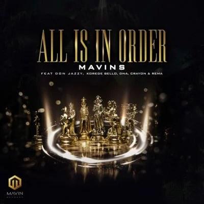 INSTRUMENTAL: Mavins - All Is In Order Mp3 Audio Download