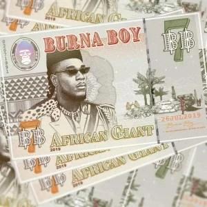 Burna Boy   Gum Body Ft Jorja Smith - AUDIO MP3: Burna Boy – Gum Body Ft. Jorja Smith