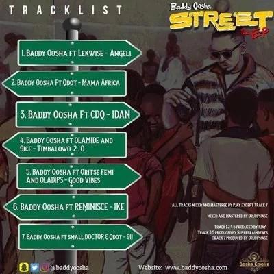 Baddy Oosha Ft. Reminisce - Ike Mp3 Audio Download
