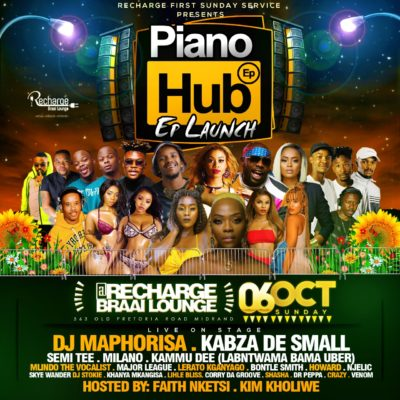 Kabza De Small & DJ Maphorisa - Piano Hub Mix Sunday 6th Oct Recharge Midrand Mp3 Zip Fast Download free full Download