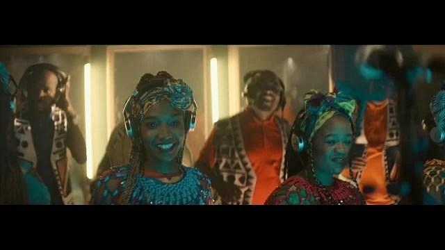 VIDEO: Sauti Sol Ft. Soweto Gospel Choir - Better Days Mp4 Download