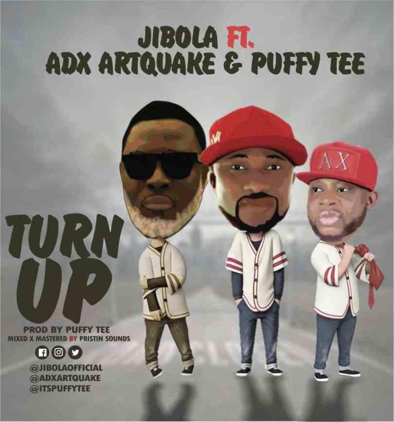 Jibola Ft ADX Artquake Puffy Tee Turn Up