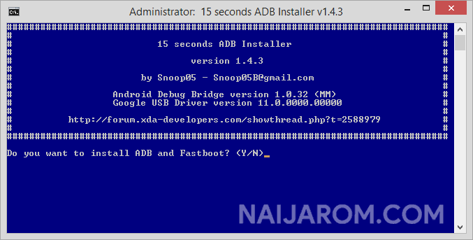 15 Seconds ADB Installer