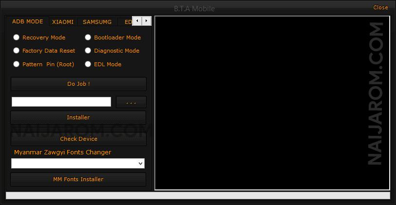 BTA Mobile Tool