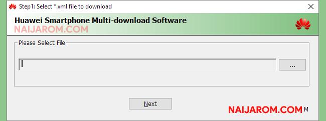Huawei Smartphone Multi Download Software v1.0.0.2