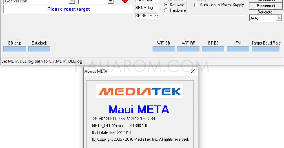 MauiMETA 3G v6.1308.0