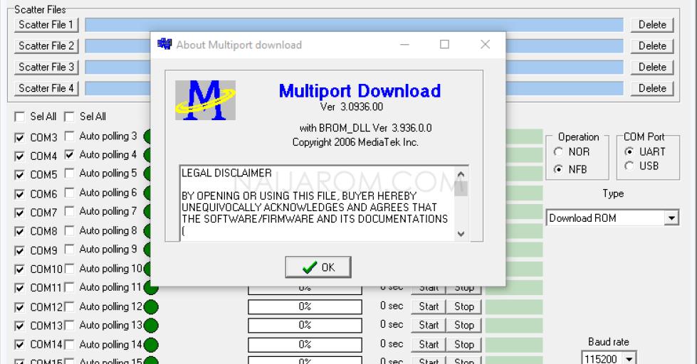 Multiport Download Tool v3.0936