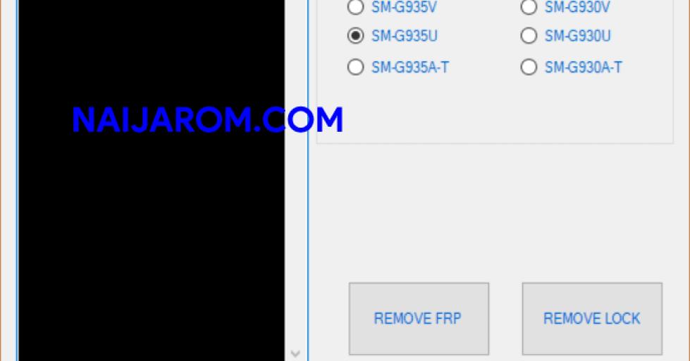 S7 Edge FRP And Lock Screen Remove Tool