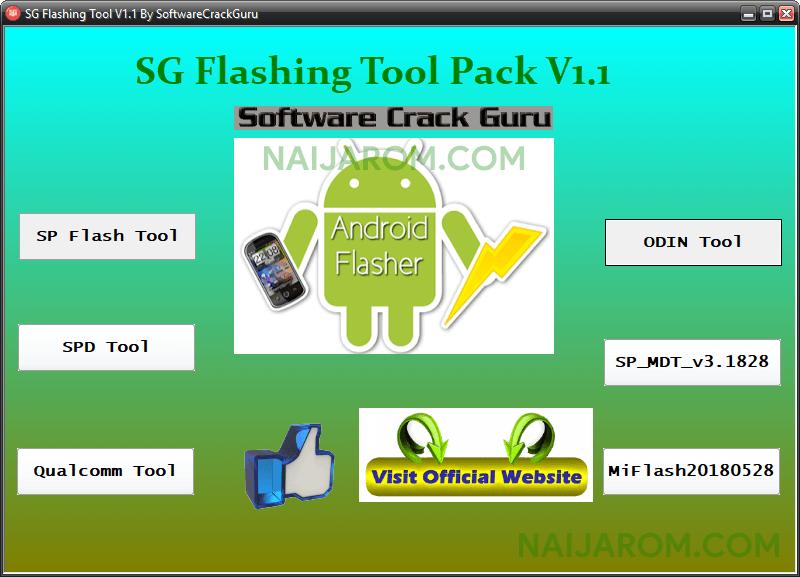 SG Flashing Tool Pack v1.1