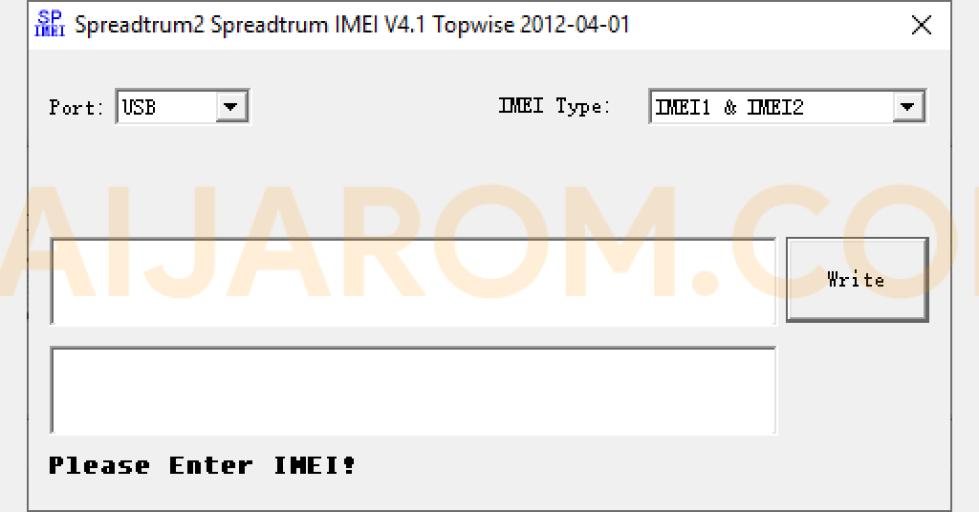 Spreadtrum IMEI Tool v4.1