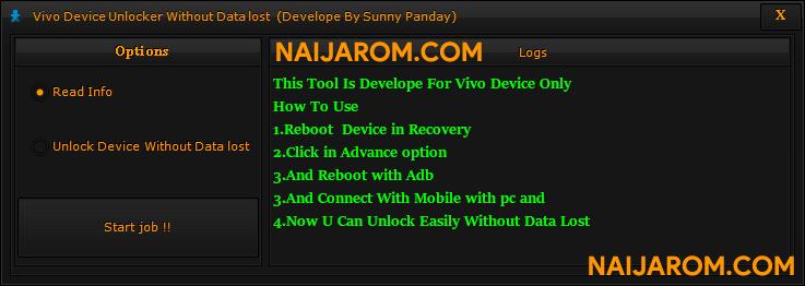 Vivo Device Unlocker Without Data Lost