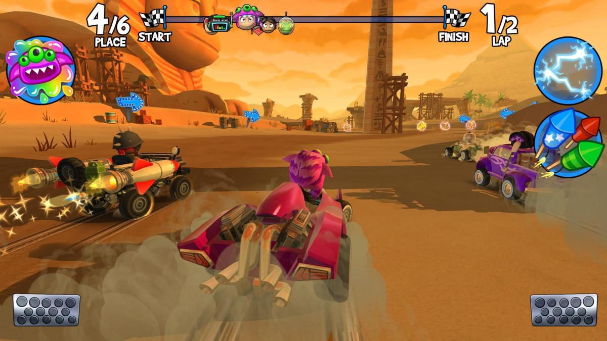 1 screen 7 - Beach Buggy Racing 2 Mod Apk (Unlimited Money And Gems)