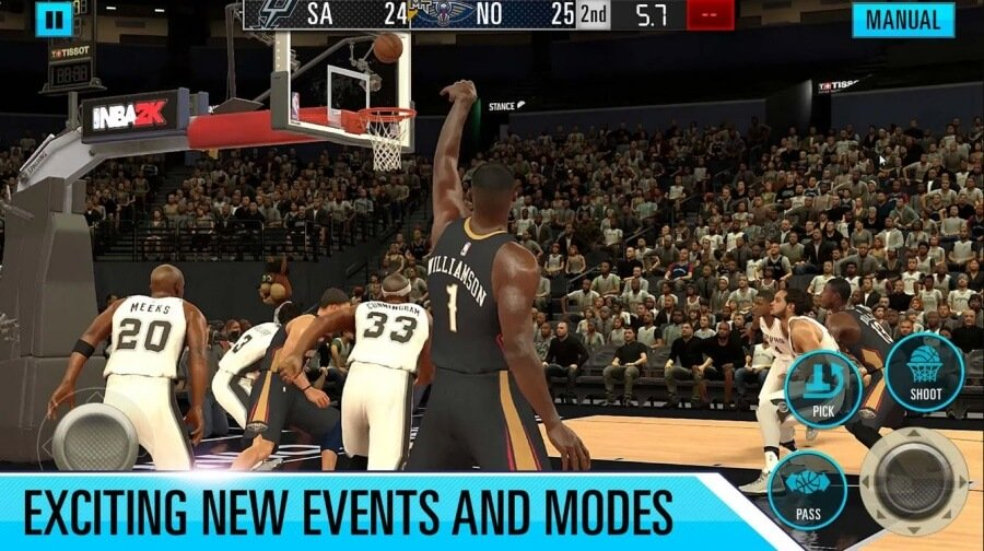 NBA 2K20 Mobile Now Out Zion Williamson Gaming - NBA 2k20 Mod Apk Highly compressed + Obb File (Unlimited Money)