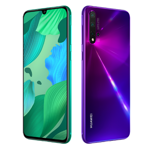 Huawei Nova 5 Design and Dispaly