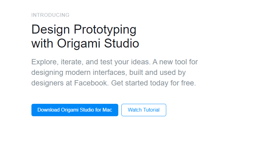 10 Best Design Tools For App Developers = Origami