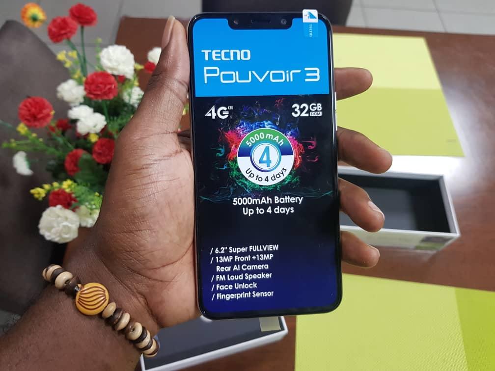 TECNO Pouvoir3 - Best Phones under 50000 Naira In Nigeria (2020)