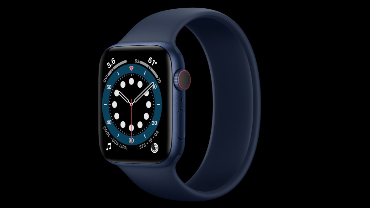 Apple Events   Special Event Stream   Apple 44 - Apple Watch Series 6 price in Nigeria and full specs