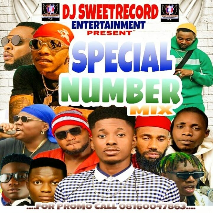 dj sweetrecord special number mixtape