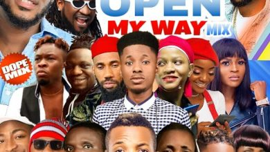 dj sweet record open my way mixtape