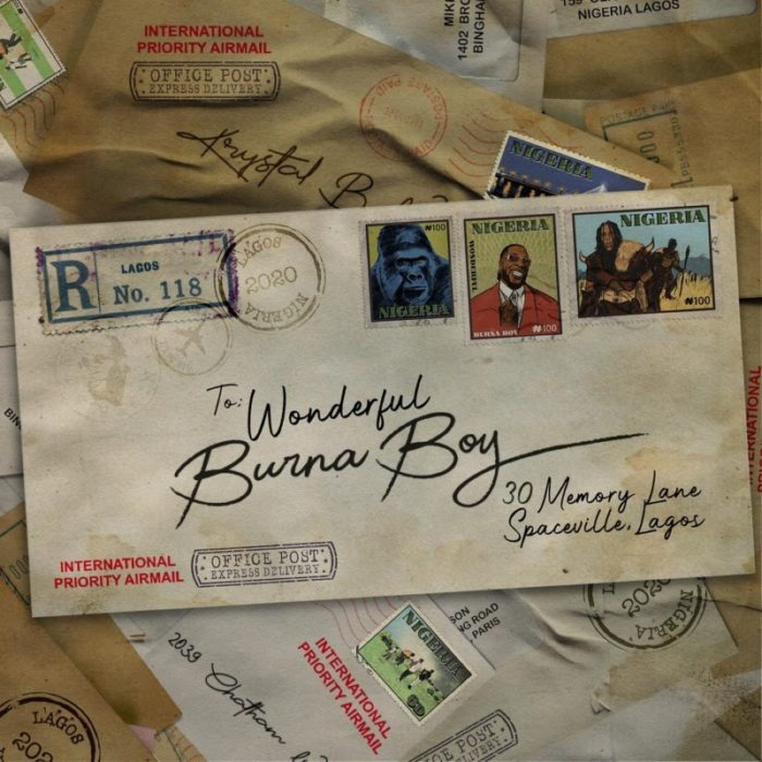 Burna Boy Wonderful