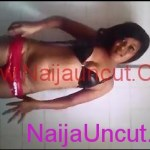 Nigerian Guy Leak Ex Girlfriend Seductive Video She Made inside The Bathroom
