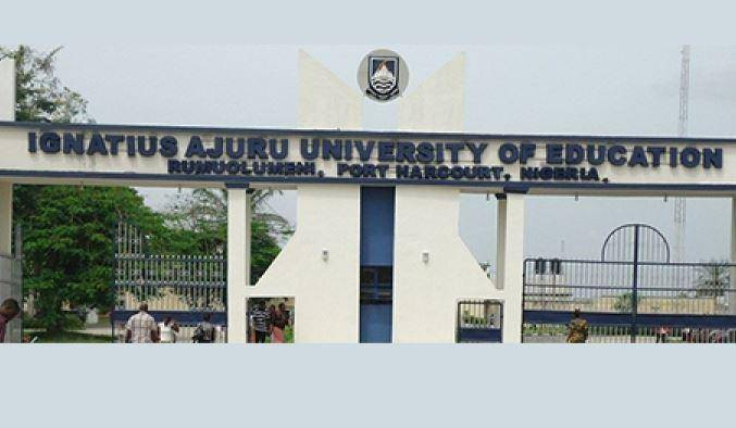 Ignatius Ajuru University of Education Merit Admission List