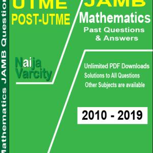 mathematics JAMB past questions