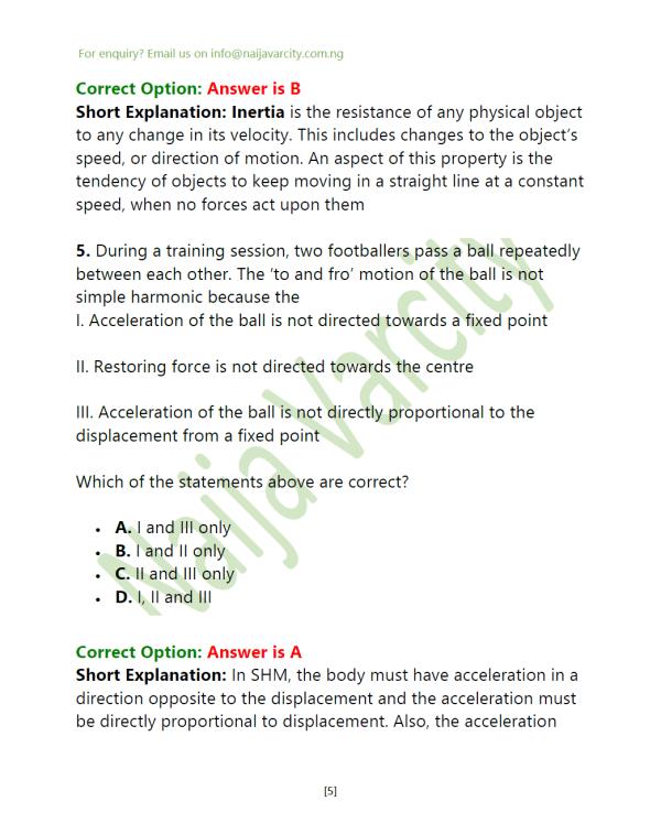 Physics WAEC Questions1
