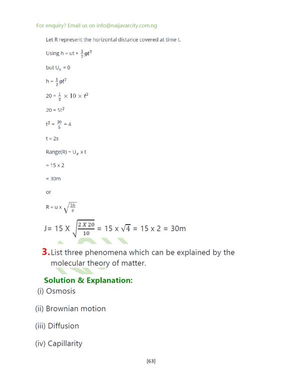 Physics WAEC Questions2