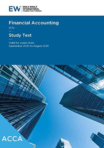 ACCA Financial Accounting FA
