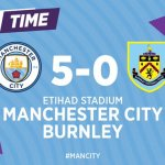 Manchester City 5 – 0 Burnley [2019/2020] Goals Highlight