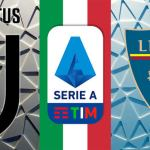 Watch Live: Juventus VS Lecce (Stream Now)