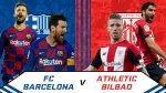 Watch Live: Barcelona Vs Athletic Bilbao (Stream Now)